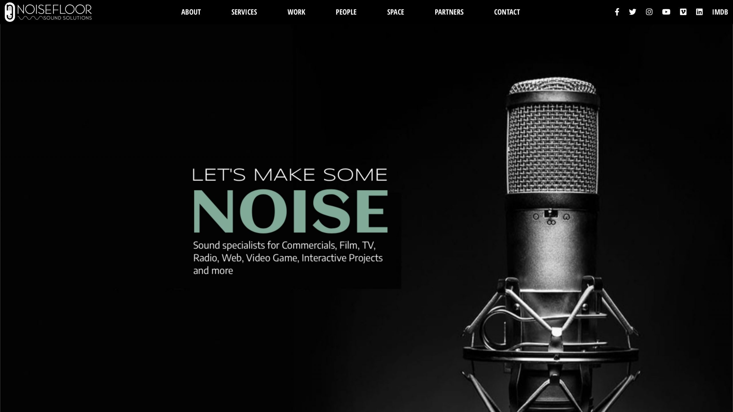 NoiseFloor Website